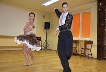 Tancerze z Agencji Tańca Bubble